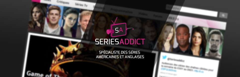 SeriesAddict conception graphique